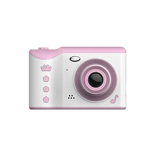 SYXX Cámara niños, multifuncional recargable respetuosa del medio ambiente de silicona suave mini cámara, cámara digital Deportes, lente dual a prueba de agua ya prueba de golpes 2,8 pulgadas de panta