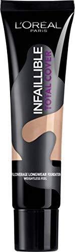 L'Oréal Paris Infaillible Total Cover Fondotinta Copertura Totale a Lunga Durata, 13 Beige Rosé