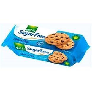 Gullon Sugar Free Chocco Chip Biscuits 10 x 125g Packs