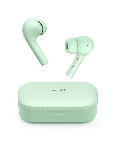 AUKEY Bluetooth Kopfhörer, In Ear Kopfhörer Kabellos mit Intensivem Bass, USB-C Quick Charge, 30 Std. Laufzeit, 10mm Dynamic Driver Hi-Fi Sound, Integriertem Mikrofon, IPX6 Wasserdicht, Bluetooth 5