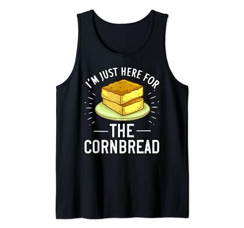 Regalo divertido de pan de maíz sin gluten Camiseta sin Mangas