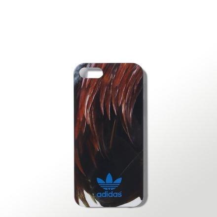 adidas Originals 16520-Custodia Protettiva per iPhone 5/5S, con Gallo gallico