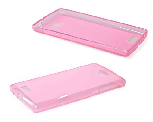 caseroxx TPU-Hülle für Archos 50 Diamond, Handy Hülle Tasche (TPU-Hülle in pink)