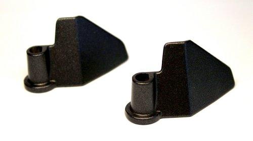 2 Knethaken kompatibel mit/Ersatzteil für Unold Backmeister/Brotbackautomat 8600, 8690, 8695, 86951, 68415, 68615