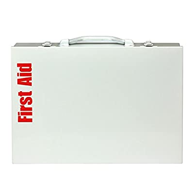 First Aid Only 90603 ANSI 2 Shelf First Aid Station, ANSI B+, Type I & II, Without Medications by Pac-Kit