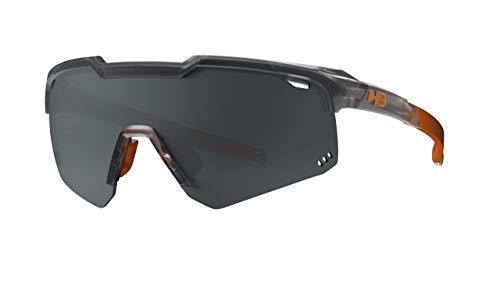 Óculos de sol SHIELD HB AdultoUnissex Preto Matte/Onyx Único