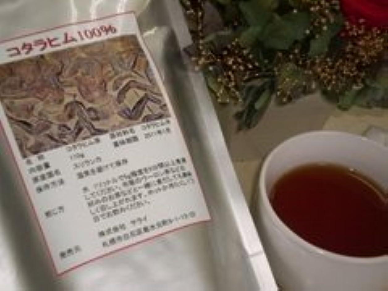 子供達アシスト欺く焙煎コタラヒム100%茶