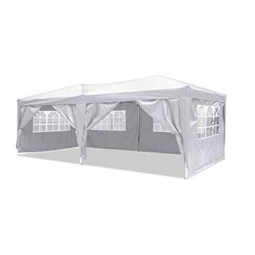 LAYX 3 X 6M Party Gazebo Tent Marquee,Fully Waterproof Awning Canopy Heavy Duty for Party Wedding Camping