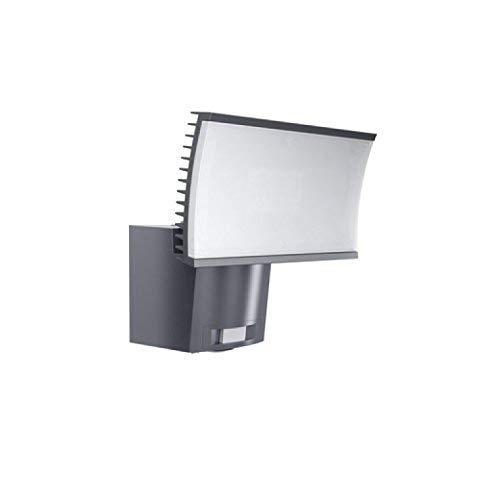 Osram LED Flutlichtstrahler, Noxlite, grau, Bewegungsmelder, Dämmerungssensor, 40 Watt, Warmweiß- 3000K 4052899905610