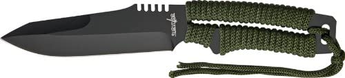 Survivor HK-722 Outdoor Fixed Limited price Import Knife Overall 10-Inch Blade