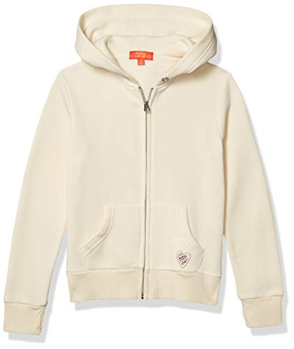 Butter Girls' Hooded Sweatshirt, Cream, 6