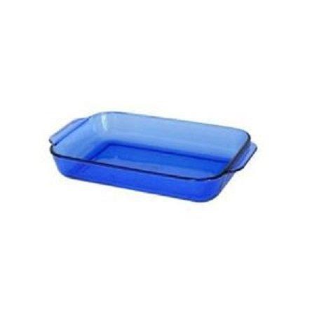 Anchor Hocking Cobalt Blue Rectangular Baking Dish ( 9 1/2' x 13 1/2' / 3 Quart ) ( 1040 )