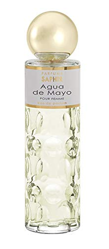 PARFUMS SAPHIR Agua de Mayo - Eau de Parfum con vaporizador para Mujer - 200 ml