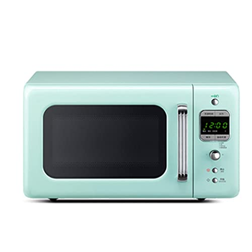 DFHT Blue Style Microwave Oven, Small Multifunctional Turntable Type, With 8 Automatic Menus, 5 Cooking Power Levels And Quick Cooking, 700 Watts 20 Liters