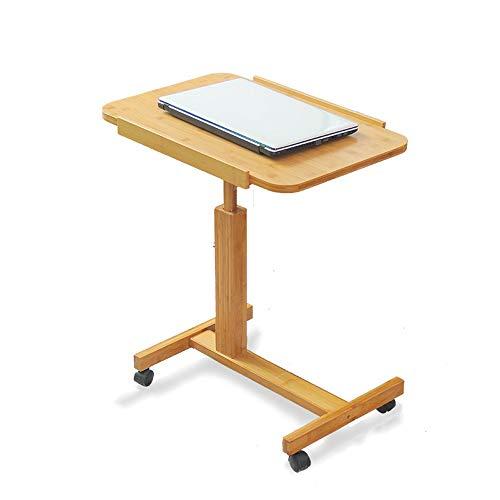 Multifunktion Beistelltisch | Holz | Höhenverstellbar Und Schwenkbar Rolltisch | Extra-leichter Tisch |kleiner Und Klappbarer Tisch | Schlafszimmer- Und Wohnzimmertisch Betttisch Höhe ( Size : 60cm )