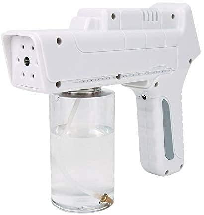 BESTPRVA Atomizador ULV, pulverizador de Pistola de Spray de Nano de Mano, Distancia de pulverización de 2 m, Adecuada for el Hotel Home Office