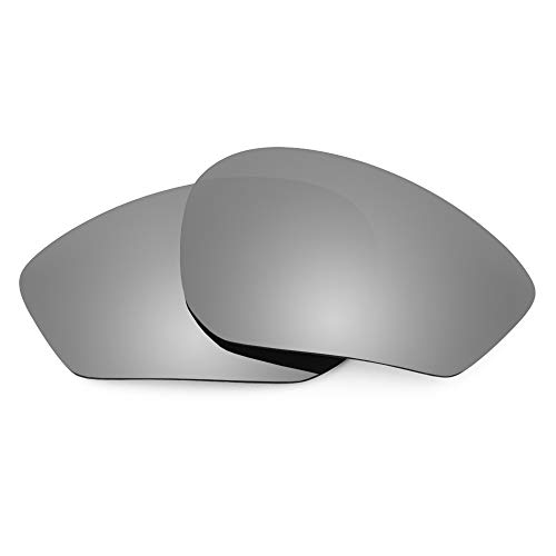 Revant Replacement Lenses Compatible With Rudy Project Zyon, Polarized, Titanium MirrorShield