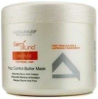 Alfaparf Semi Di Lino Discipline Frizz Control Butter Mask (For Rebel Hair) 500Ml/17.28Oz by Alfaparf [並行輸入品]