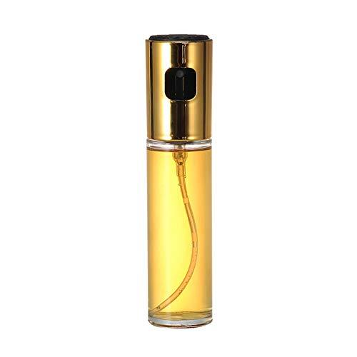 HUIKJI Pulverizador de aceite para cocinar, rociador de aceite de oliva portátil de grado alimenticio para hornear asar a la parrilla, barbacoa o freír, 100 ml