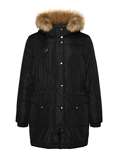 Junarose Female Parka Winter S-40/42Black
