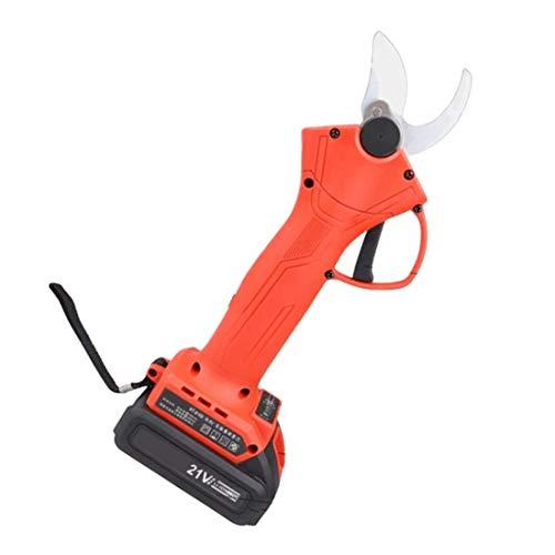 N/A draadloze elektrische snoeischaar, draagbaar tuingereedschap, snijdiameter 30 mm, 16,8 V/21 V, batterij * 2, 5-6 werkuren, anti-snij-veiligheidsschaar.