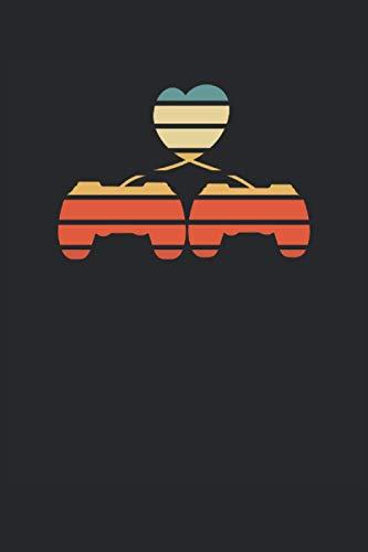 I love gaming: Taccuino a righe, taccuino, diario, ToDo, quaderno, libro di...