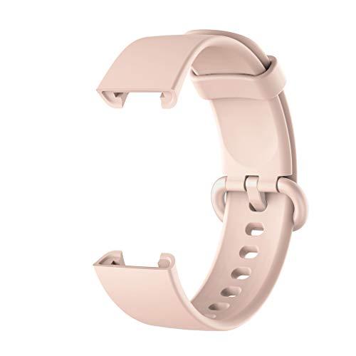 LEXIANG para -Xiaomi Mi Watch Lite Versión Global Reemplazo de Correa de Silicona Pulsera Colorida para Redmi Watch Mi Watch Lite Reloj Inteligente