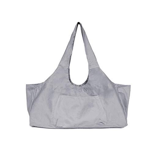 AIHOME YogaPets Bolsa de transporte para esterilla de yoga, grande, con correa y bolsillo lateral, apto para la mayoría de esterillas