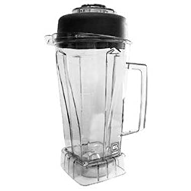 Vita-Mix Clear Replacement 64 Oz Container with Ice Blade