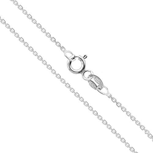 """2 mm Toutes Tailles 4/"""" Nouveau Argent Sterling Boîte Chaîne Bracelet 0.8 mm 10/"""" 925 Italie"""
