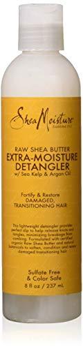 SheaMoisture 8 oz Raw Shea Butter Extra-Moisture Detangler