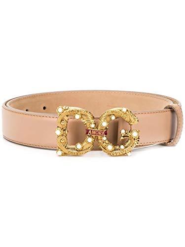 Luxury Fashion | Dolce E Gabbana Dames BE1335AK1338M308 Roze Leer Riemen | Lente-zomer 20