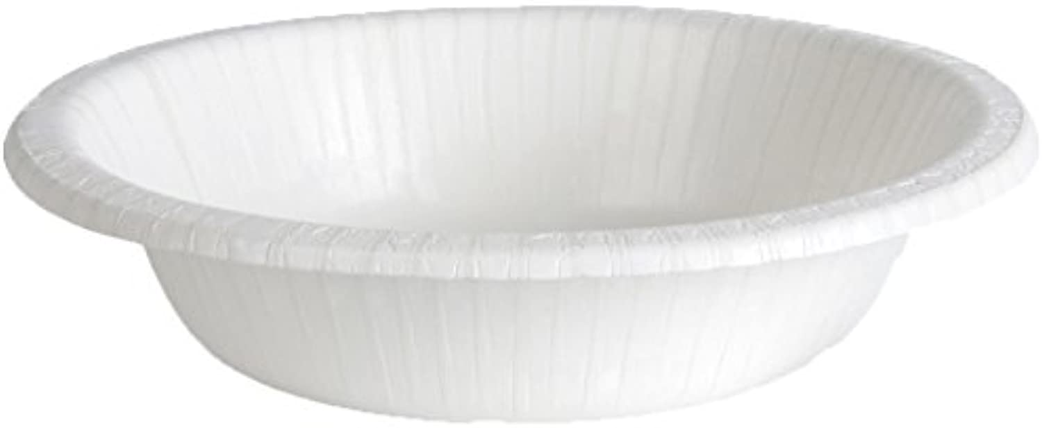 Dixie Basic Light-Weight 12 oz. Paper Bowl by GP PRO (Georgia-Pacific), White, DBB12W, 1,000 Count (125 Bowls Per Pack, 8 Packs Per Case)