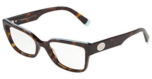 Tiffany Brillen Gafas de Vista RETURN TO TF 2185 HAVANA 53/17/140 Damen