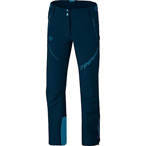 DYNAFIT Mercury Softshell Pant (Modell Winter 2018) Blau, Damen Hose, Größe 40 - Farbe Reflecting Pond