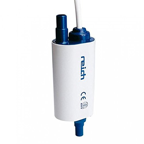 Reich Hochleistungs Verstärkerpumpe, Tauchpumpe, Förderleistung max 18 l/min, Stromaufnahme max 30-40 W