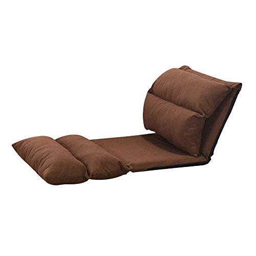 TWDYC Position Klappbarer Boden Gaming Sofa Stuhl Liege Klappbare Schlafcouch Liege (Color : A)