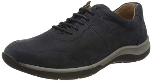 camel active Herren Path Sneaker, Blau (Midnight 01), 42 EU