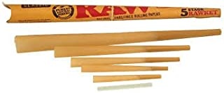 RAW 5 Stage Rawket Rolling Papers Cone 1 Cone
