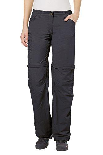 VAUDE Damen Hose Farley Zip Off Pants IV, Basalt,38/S, 3873
