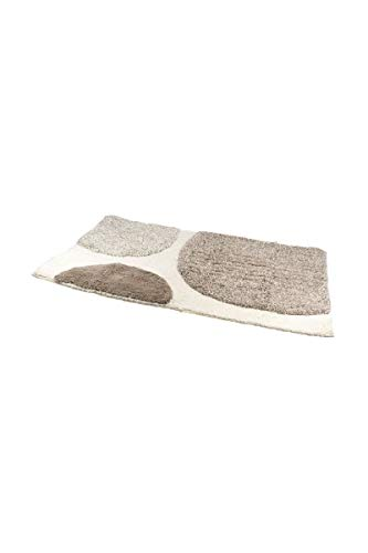 Frandis 195908 Alpaga Tapis de Bain Coton Taupe 50 x 80 cm