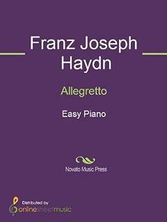 Best allegretto music sheet Reviews