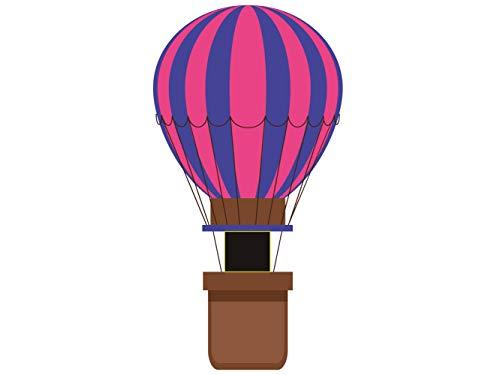Photocall Globo aerostatico Rosa | 0,79 m x 1,52 m | Photocall Ideal para Fiestas | Accesorios de Regalo | Photocall Original