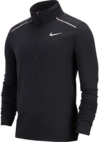 Nike Herren Langarmshirt Dry Element, black/reflective silver, XL, 683485-010