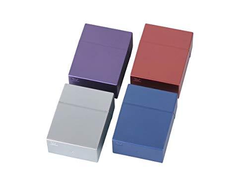 3 x Zigarettenbox XXL bunt Sortiert für Big Box mit 30 Zigaretten Etui Kunststoff