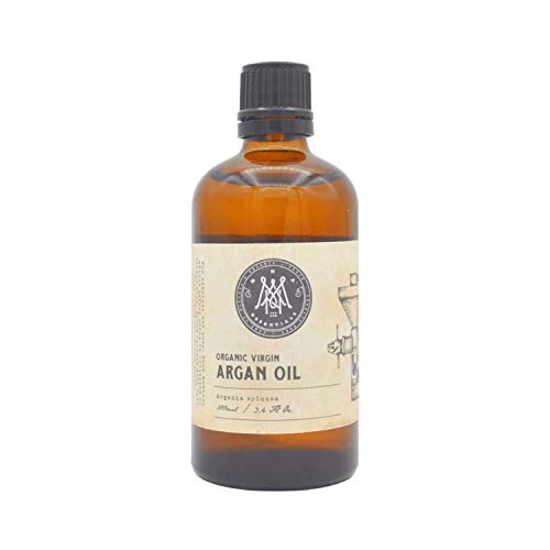 MNA Marokkanisches BIO Arganöl 100ml – Reines, Natürliches und biologisches Öl für Haare, Haut, Nägel und selbstgemachte Beautyformulierungen
