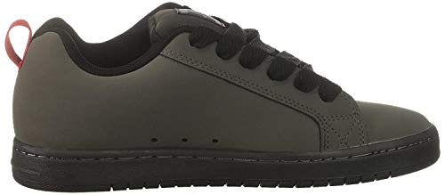 DC Shoes Herren Court Graffik Kurz, Grau/Schwarz/Rot, 52 EU