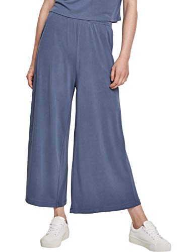 Urban Classics Hose Ladies Modal Culotte Pantalones de Vestir, Vintage...