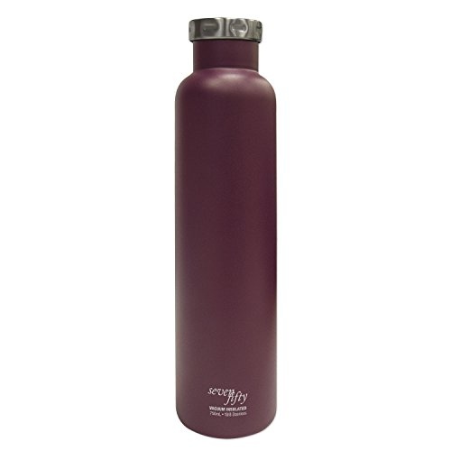 Seven Fifty Burgundy Vacuum-Insulated Stainless Steel Wine Growler