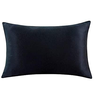 ZIMASILK 100% Mulberry Silk Pillowcase for Hair and Skin,Both Side 19 Momme Silk, 1pc from TOPP TEXTILE